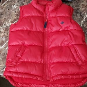 Kids Red Old Navy Puffer Vest 5T
